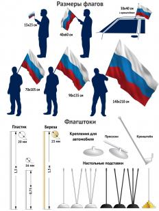 """Флаг """"Девиз ГРУ Побеждают сильнейшие"""""""