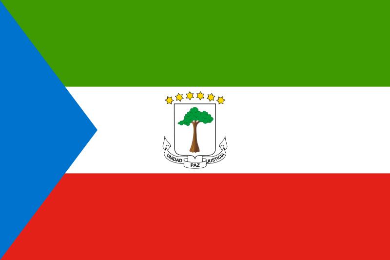 Флаг Экваториальной Гвинеи