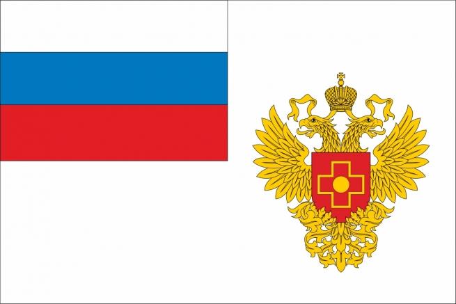 Флаг Федерального медико-биологического агенства России