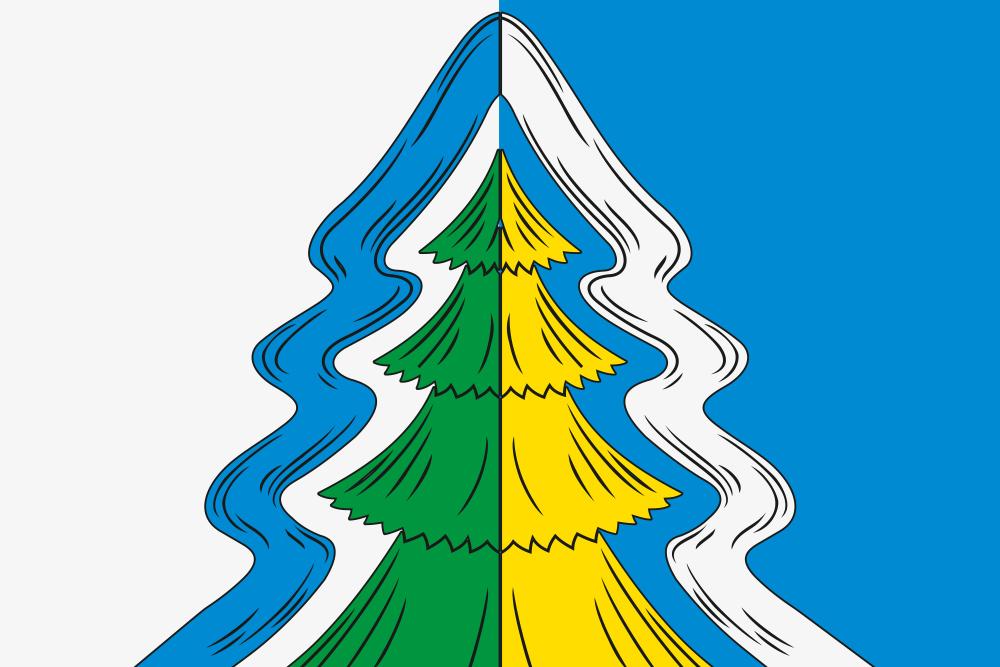 Флаг Нейского района