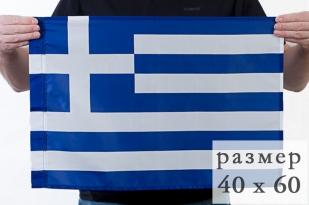 Флажок Греции на палочке по акции