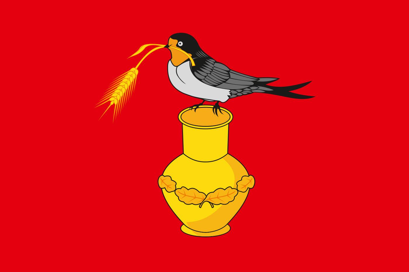 Флаг Измалковского района