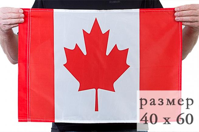 Флаг Канады 40x60 см по акции
