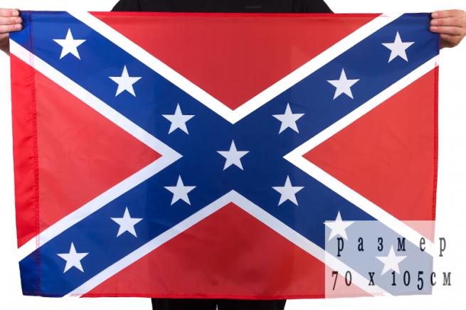 Флаг Конфедерации 70x105 см