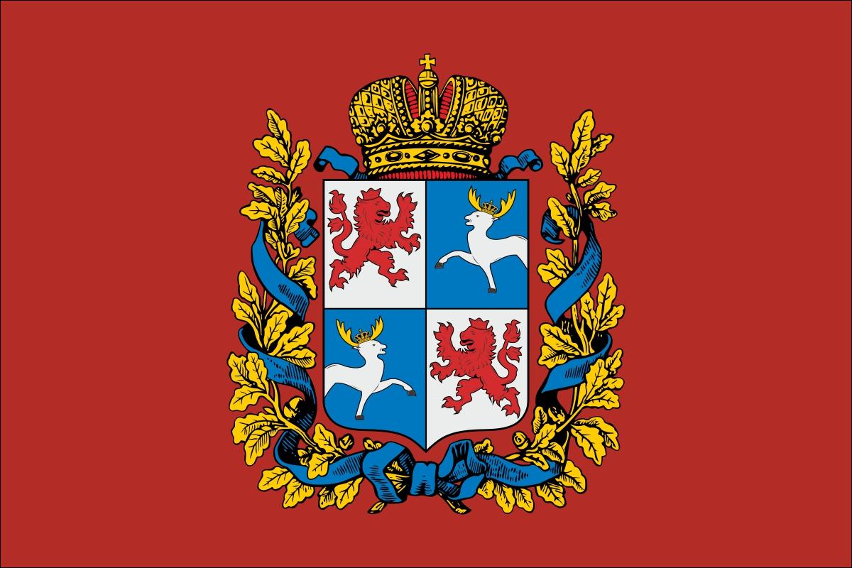 Флаг Курляндской губернии
