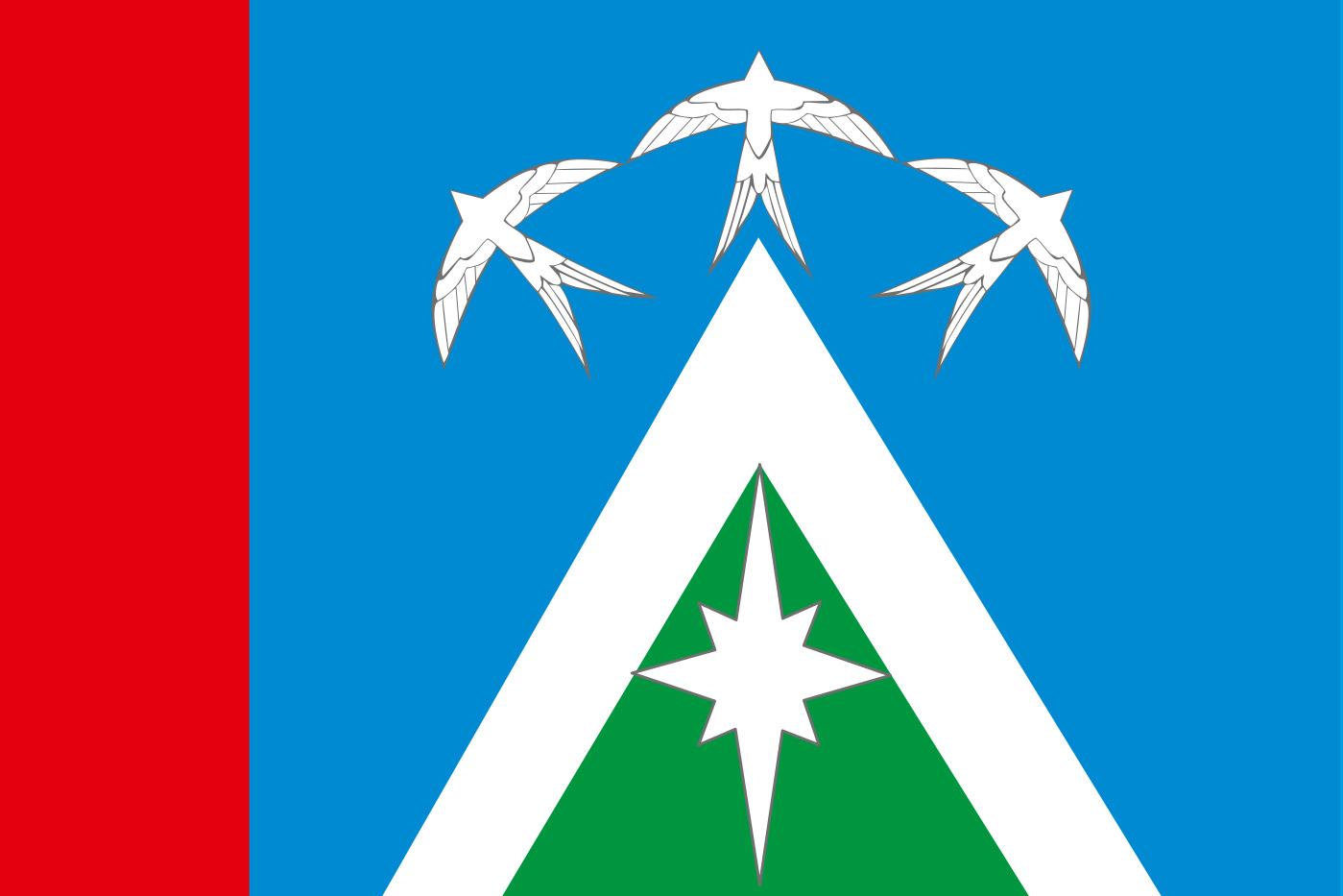 Флаг Луховиц