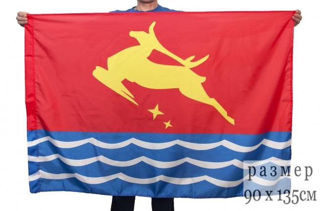 Флаг Магадана к празднику день города Магадан