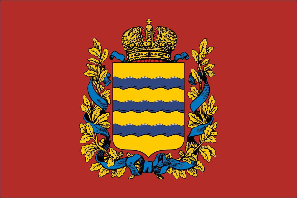 Флаг Минской губернии