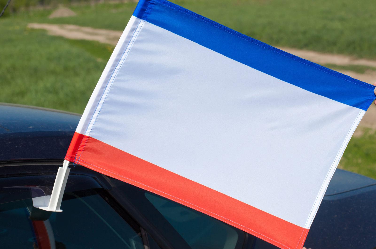 Флаг на машину «Автономная республика Крым»