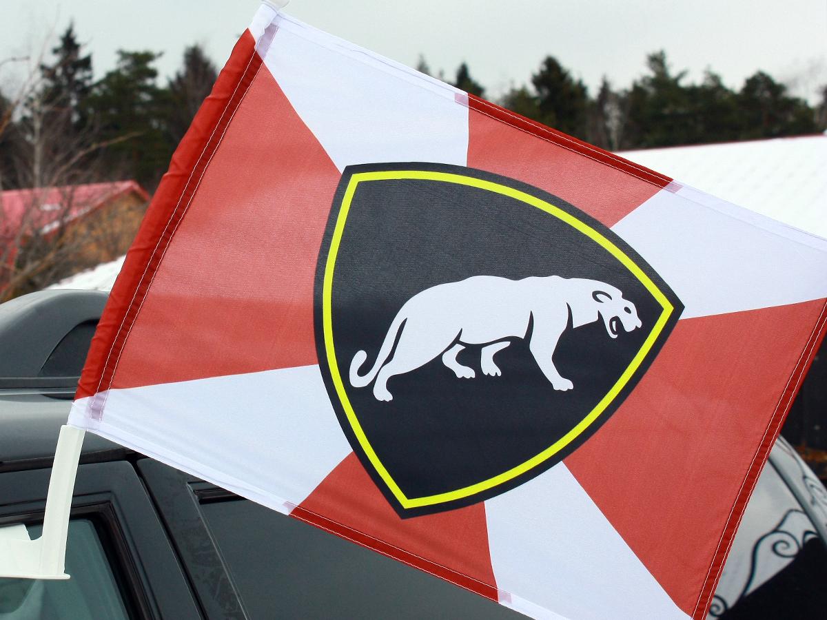 Флаг на машину с кронштейном «ОДОН»