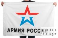 "Флаг ""Эмблема Армии России"""