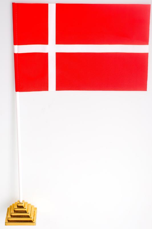 Флажок настольный «Флаг Дании»