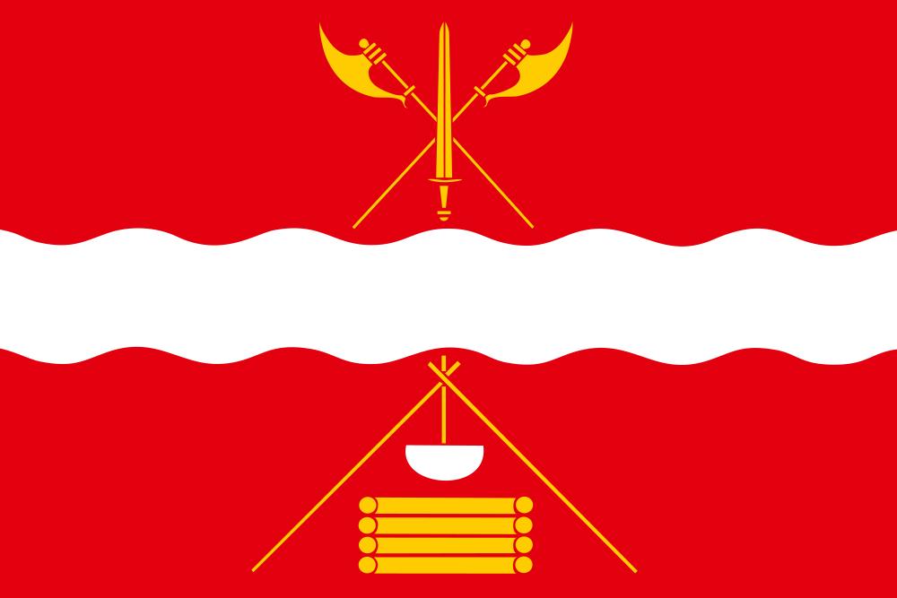 Флаг Некрасовского района