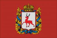 Флаг Нижегородской губернии