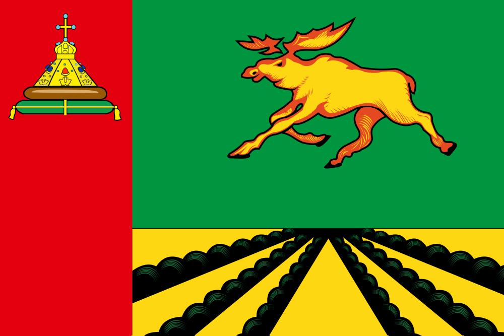 Флаг Оленинского района