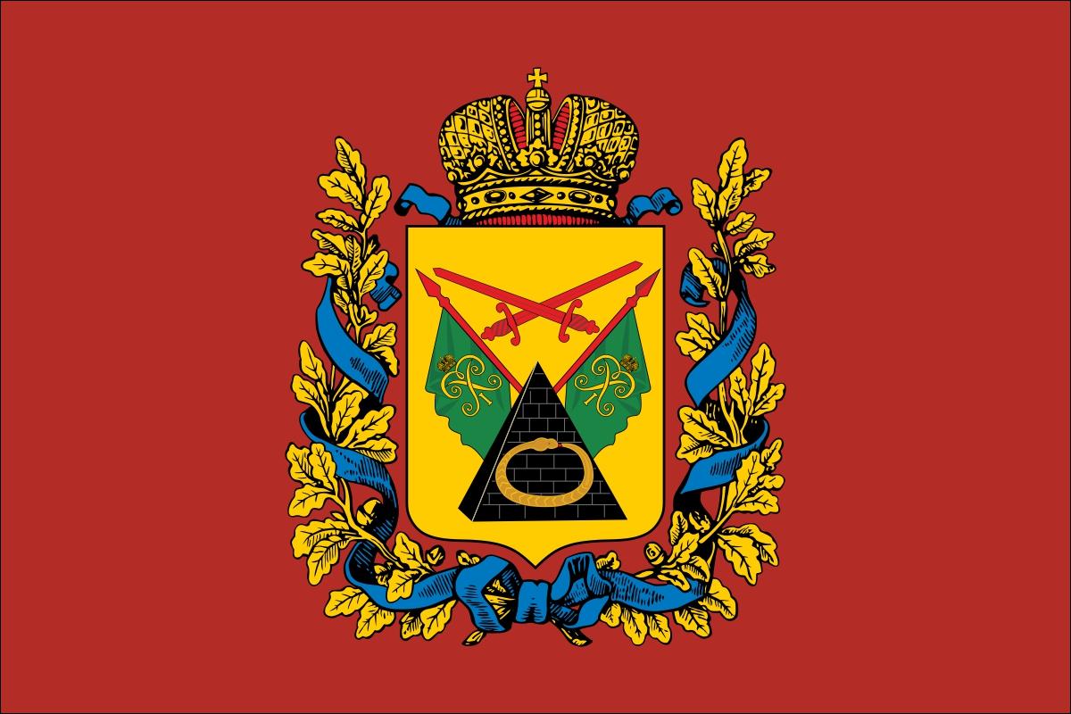 Флаг Полтавской губернии