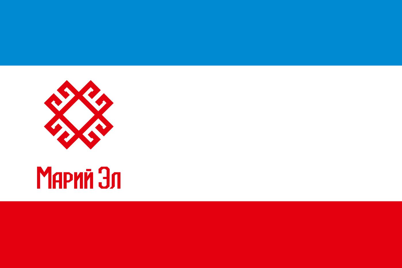 Флаг Республики Марий Эл 1992 года