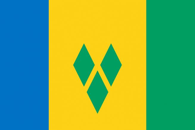 Флаг Сент-Винсент и Гренадины