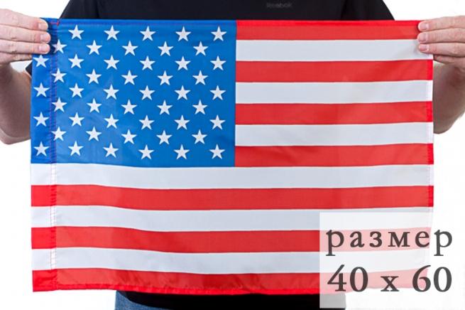 Флаг США 40x60 см