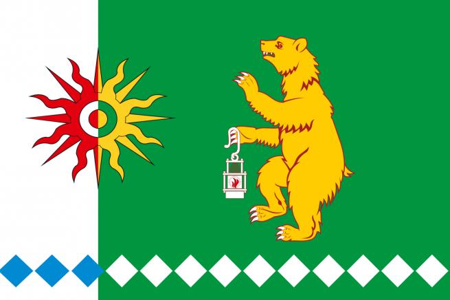 Флаг Тисульского района