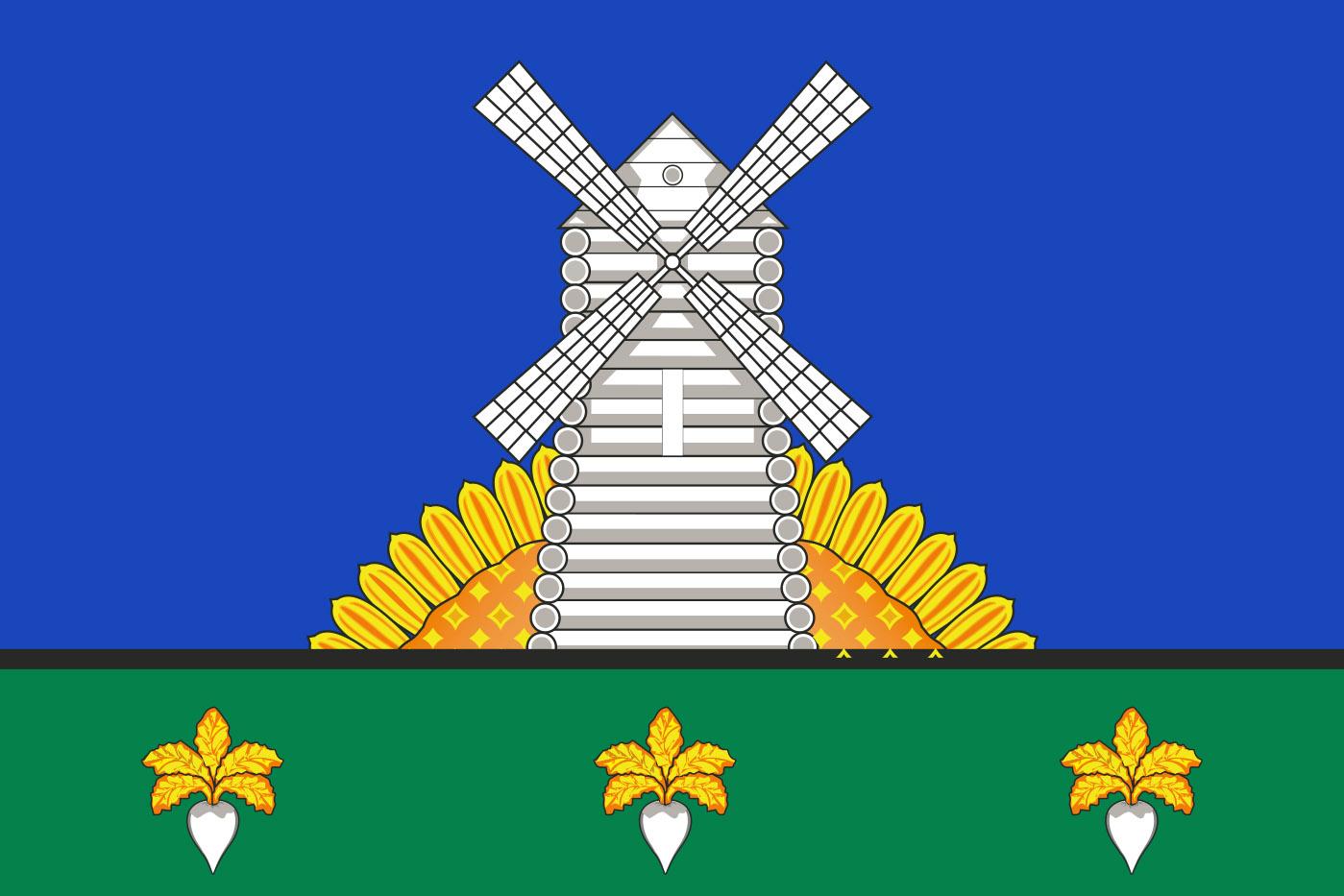 Флаг Токарёвского района