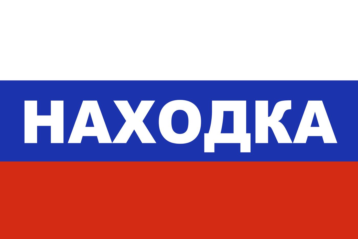 Флаг триколор Находка