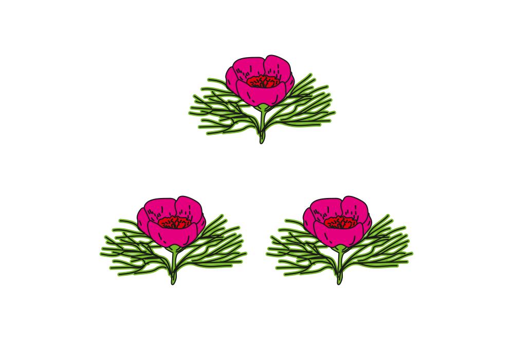 Флаг Вейделевского района