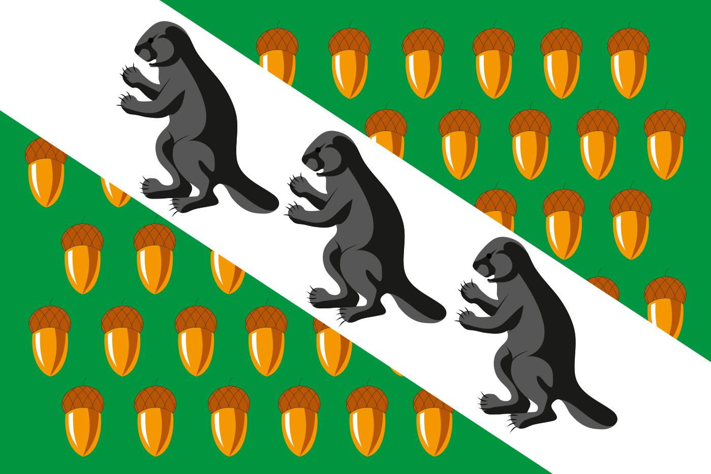Флаг Верхнего Дуброва