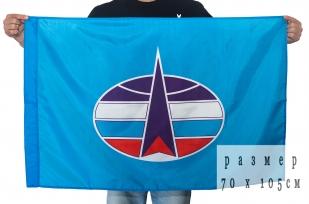 Двухсторонний флаг «Военно-космические войска»