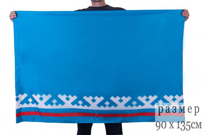 Флаг Ямало-Ненецкого автономного округа