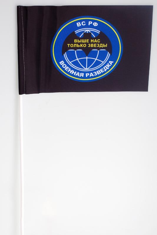 Флажок на палочке «Девиз военной разведки ВС РФ»