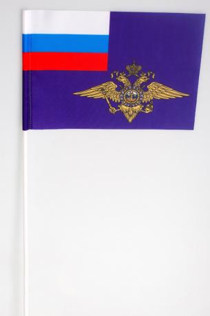 Флажок на палочке «Флаг МВД»