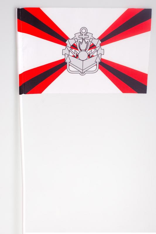 Двухсторонний флаг «Инженерные войска»