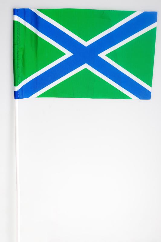 Двухсторонний флаг «Морчасти Погранвойск РФ»