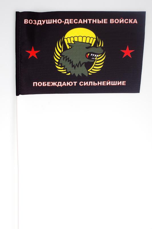Флажок на палочке «ВДВ – Побеждают сильнейшие»