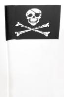 Флажок на палочке «Весёлый Роджер»