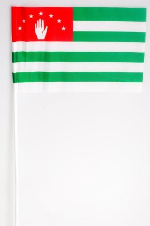 Флажок Абхазии на палочке
