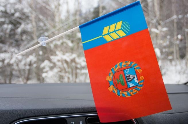 Флажок Алтайского края на присоске