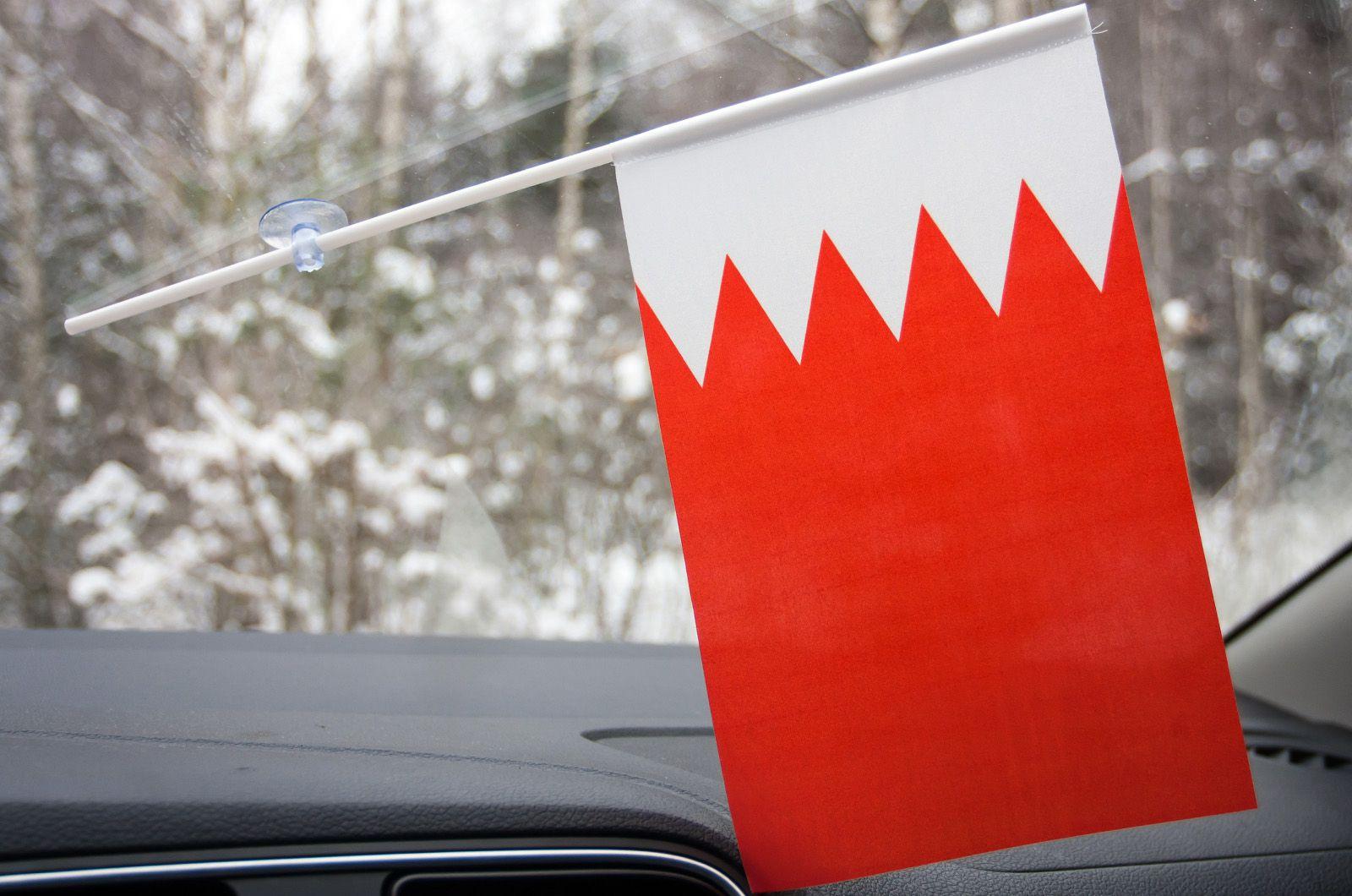Флажок Бахрейна в машину
