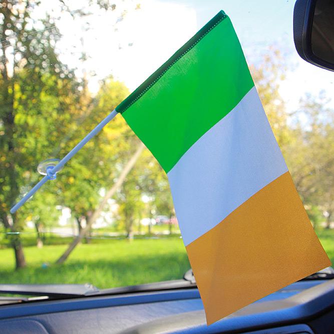 Флажок Ирландии с присоской
