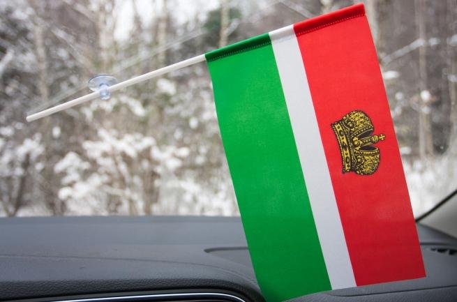 Флажок Калужской области на присоске