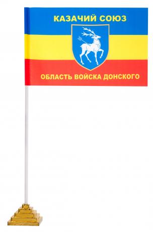 Флажок Казачьего Союза настольный