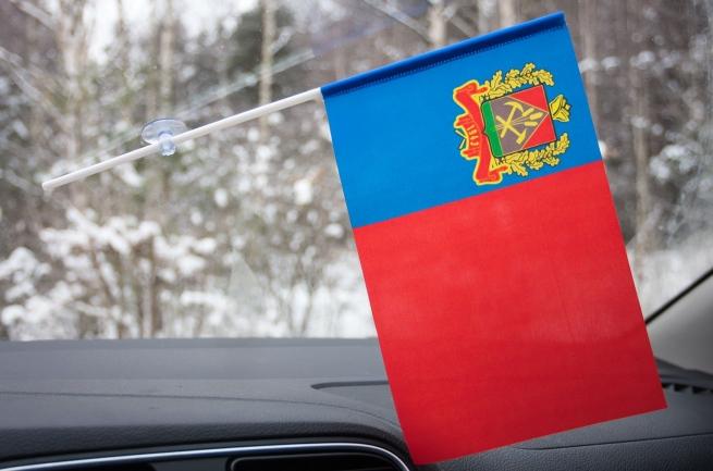 Флажок Кемеровской области на присоске