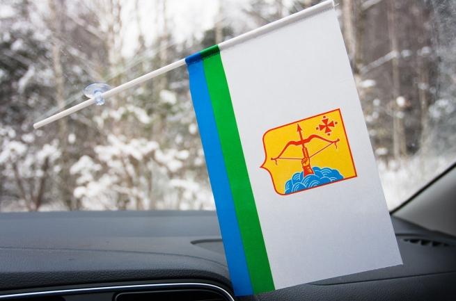 Флажок Кировской области с присоской