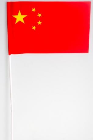 Флажок Китая на палочке