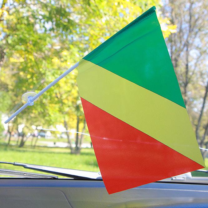 Флажок Конго в машину