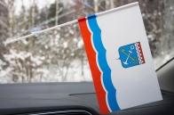 Флажок Ленинградской области
