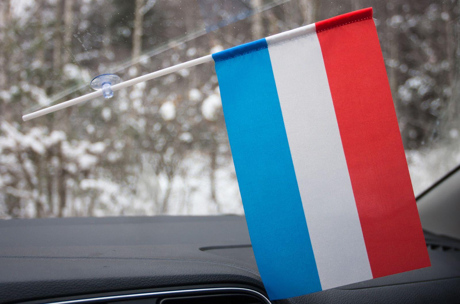 Флажок Люксембурга в машину