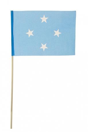 Флажок Микронезии