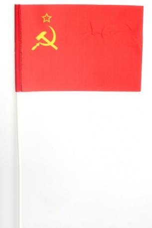Флажок на палочке «Флаг СССР»
